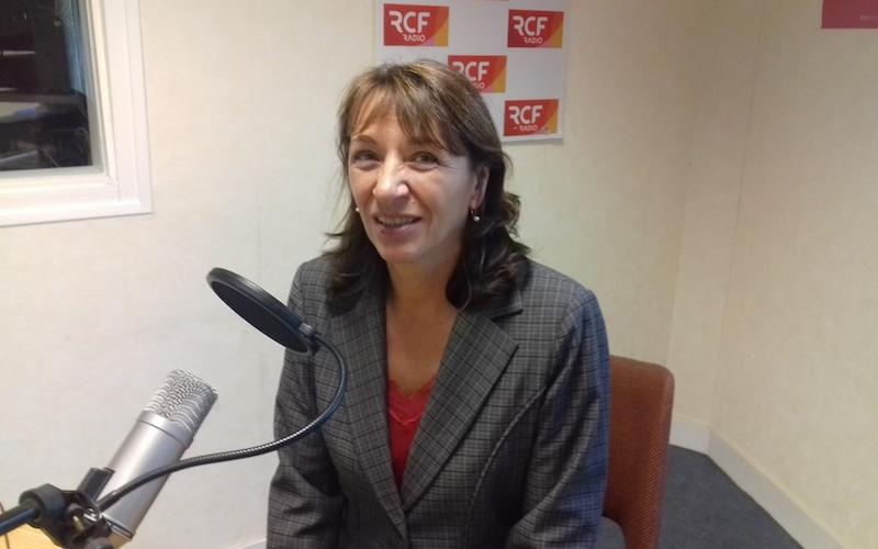 Marie Christine Hebrard directrice des services de l'éducation nationale en Charente