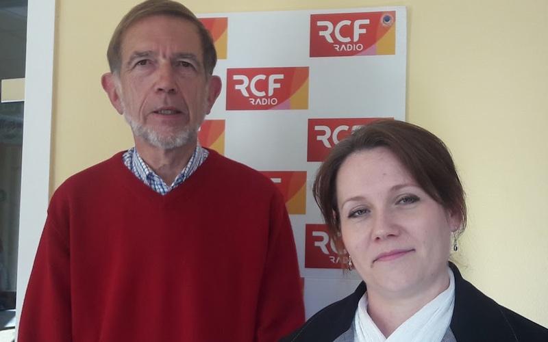 Laurent Yver, le président d'ASP 16, et Magalie Goyer, bénévole d'accompagnement à ASP 16