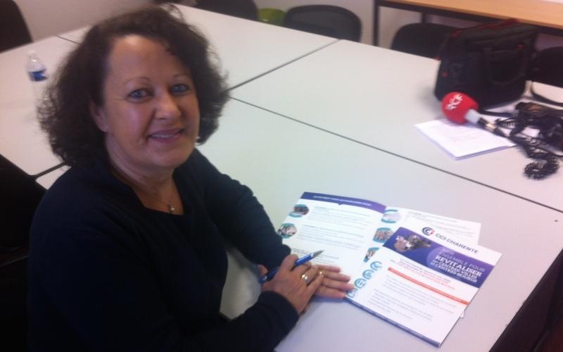 Chantal Doyen-Morange, conseillère territorial à la CCI de la Charente