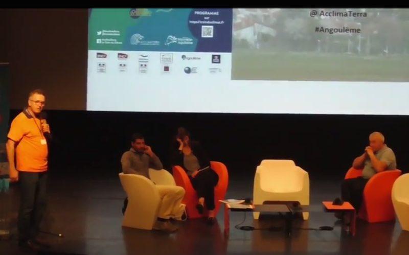 Train du Climat à Angoulême Diplomatie de l'eau