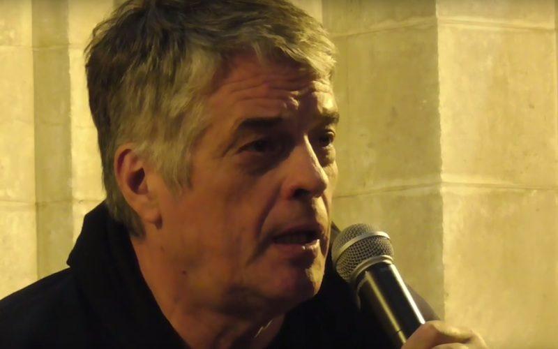 Pere Bernard-Marie Geffroy en conférence à Angoulême