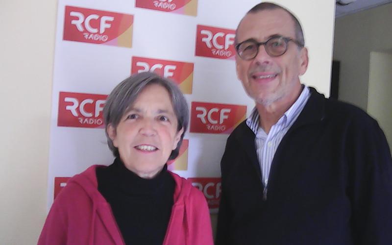 Martine Brillet ancienne aumônier de prison à Angoulême et Jean-Paul Tourvieille sont remplaçant