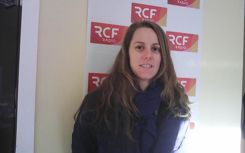 Honorine Bernard responsable de la Maison des Peuples et de la Paix