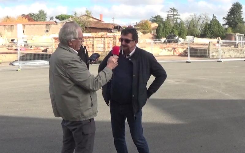 Jean-Louis Marsaud, vice président en charge de l'urbanisme à la communauté de communes La Rochefoucauld - Portes du Périgord