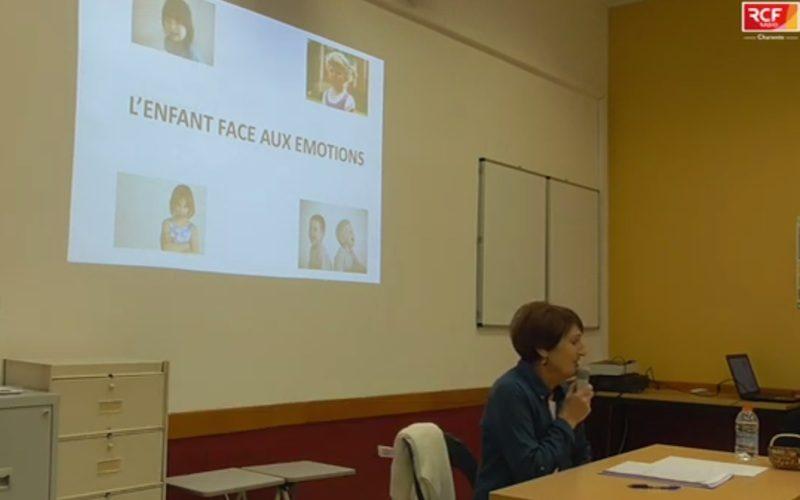 """Bernadette Chaves, conférence """"l'enfant et ses émotions""""."""