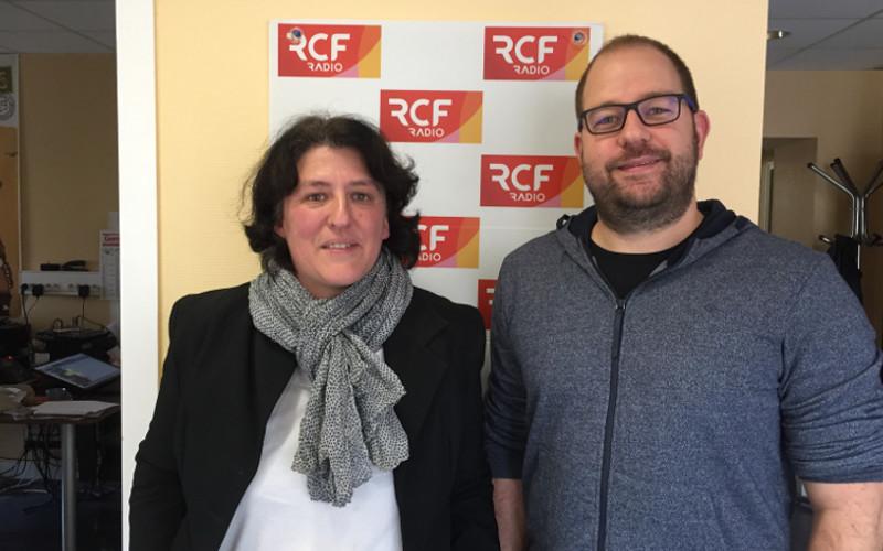 Blandine Farrell, la présidente et Johan Toulouse, psychologue et membre du conseil d'administration