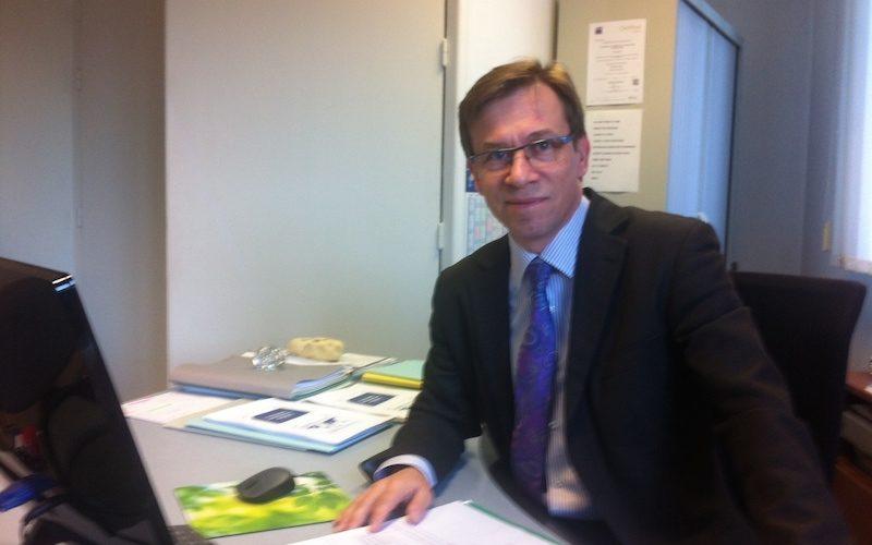 Laurent Bournoville, conseiller en développement international à la CCI