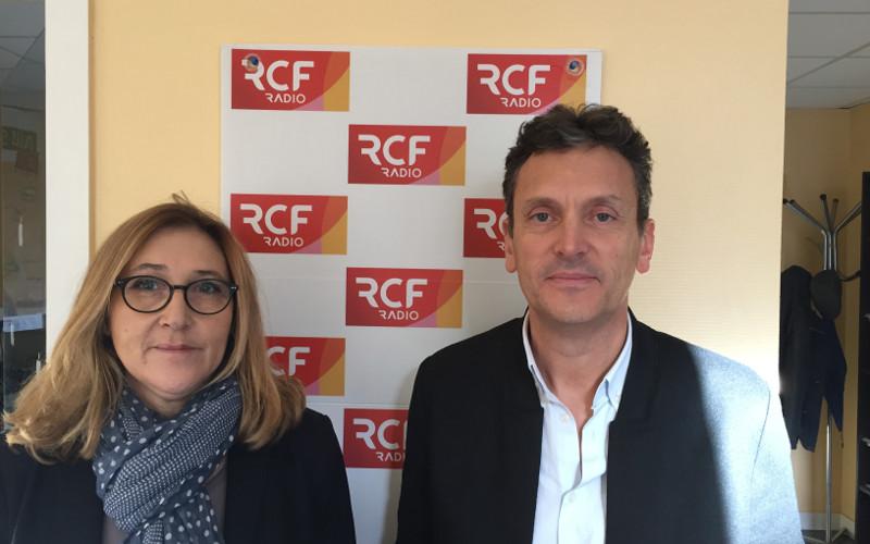 Bruno Da Silva, le nouveau directeur de l'Office de tourisme du Pays d'Angoulême et Magali Massière, directrice adjointe de la structure