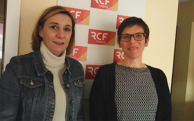 Nathalie Vieillard-Baron, responsable de la médiathèque de la commune et Valérie Maillochaud, responsable du service culture, sport et vie associative pour la mairie de Ruelle