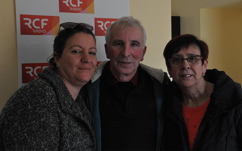 Nathalie VIERA, Maryse DUTEIL et Antoine DA SYLVA