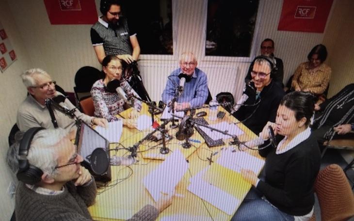 Première émission Cahiers d'espérance sur RCF Charente