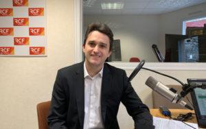Etienne Recoules, trésorier, de l'association du FIBD