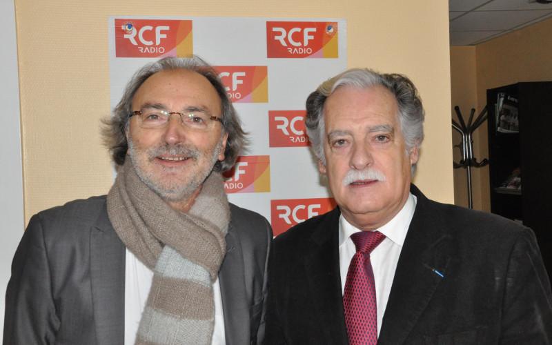 Le président Daniel Braud et Jean-Marc Jugain, le responsable du service développement des entreprises à Angoulême