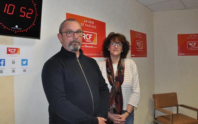 Michel Guitton, directeur départemental du comité charentais de la Prévention routière, et Véronique Basset, bénévole impliquée depuis 15 ans.