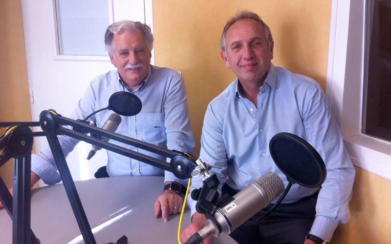 Daniel Braud, président de la Chambre de commerce et d'industrie de la Charente et Marc Faillet, directeur de cette même chambre