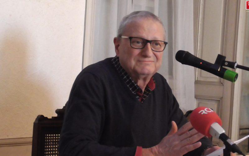 Gérard Benguigui, président de l'association des juifs de Charente