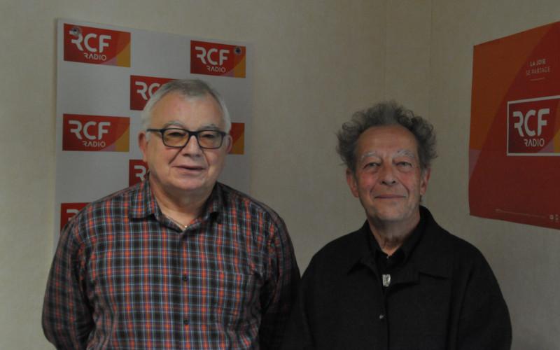 """Jean-Claude Rondeau, créateur de l'événement """"Anna Searle Festiavl"""" et Jacques Redoulès, bénévole"""