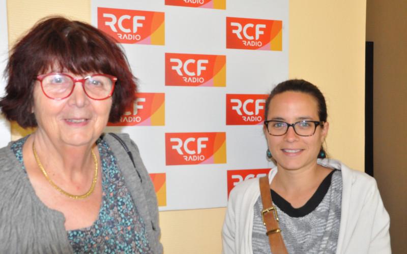 Marie-Laure Picoury, administratrice du centre social de Mansle, et Marie-France Camy, présidente du CSCS Rives de Charente