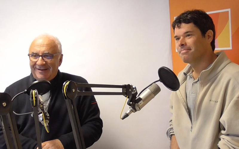 Monseigneur Hervé Gosselin et Père Benoît Lecomte