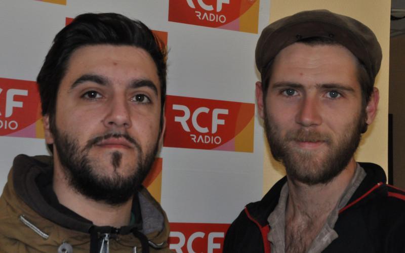 Nicolas Mayeux et Hugo Philippon, deux membres fondateurs de l'association Saxifraga