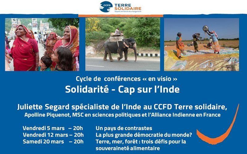 Conférences CCFD Cap sur l'Inde