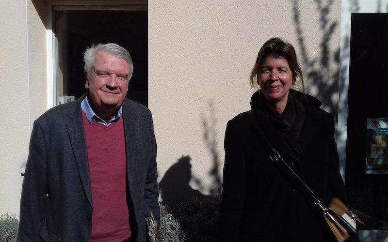 Ghislain de Beaucė et Pamela de Montleau portent en Charente l'association des Parcs et jardins