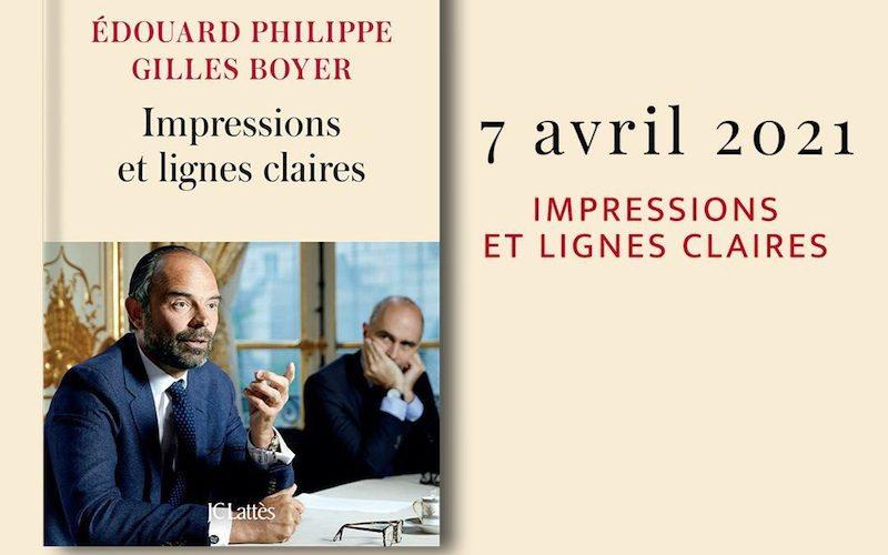 Impressions et lignes claires livre d'Edouard Philippe et Gilles Boyer