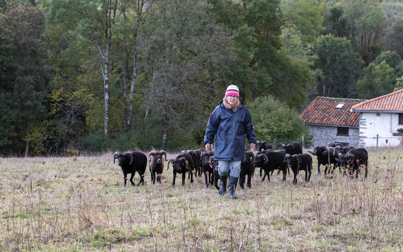 Anne-Lorraine Vigouroux défend la cause animale @MD Barufaud automne-2