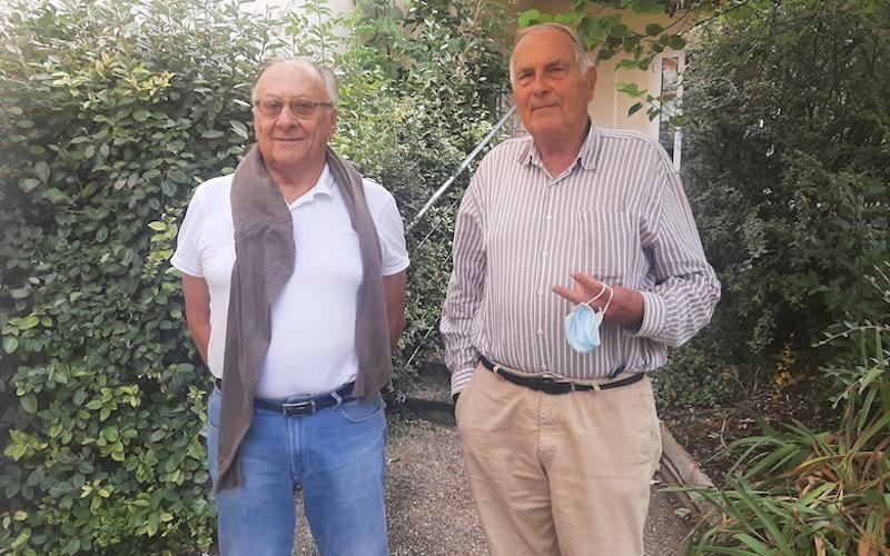 Christian Belben et Serge Arrou