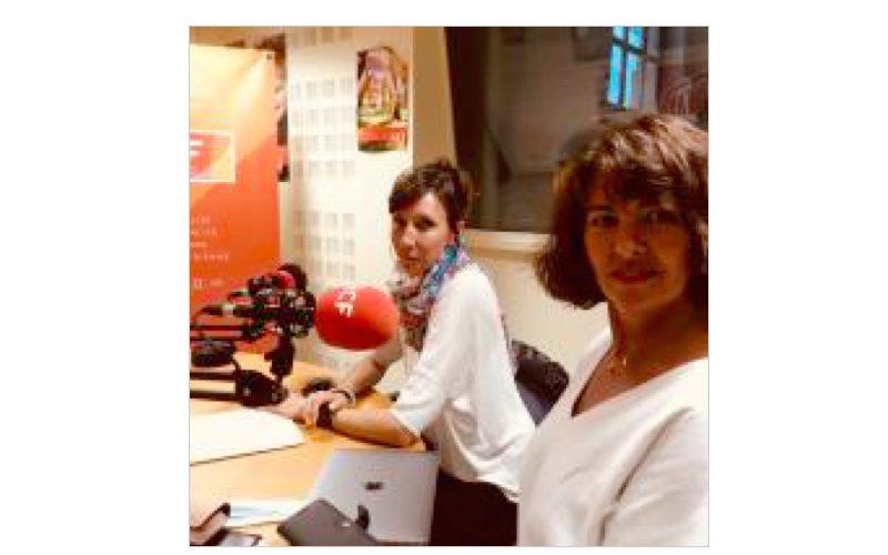 Magali Filloux et Pascale Lajugie, pévention routière
