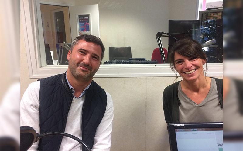Amélie Chetelain et Benoit Gilles